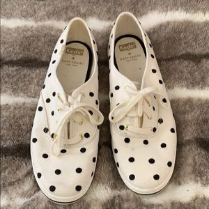 Kate Spade for Keds polka dot sneakers